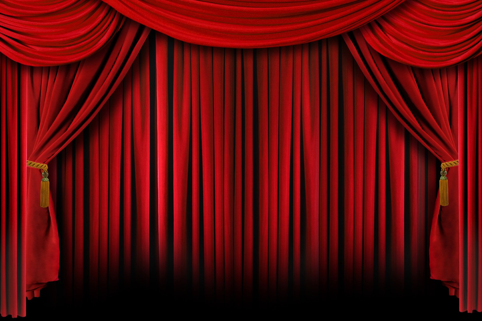 Cortina Teatro - Cortina Para Teatro