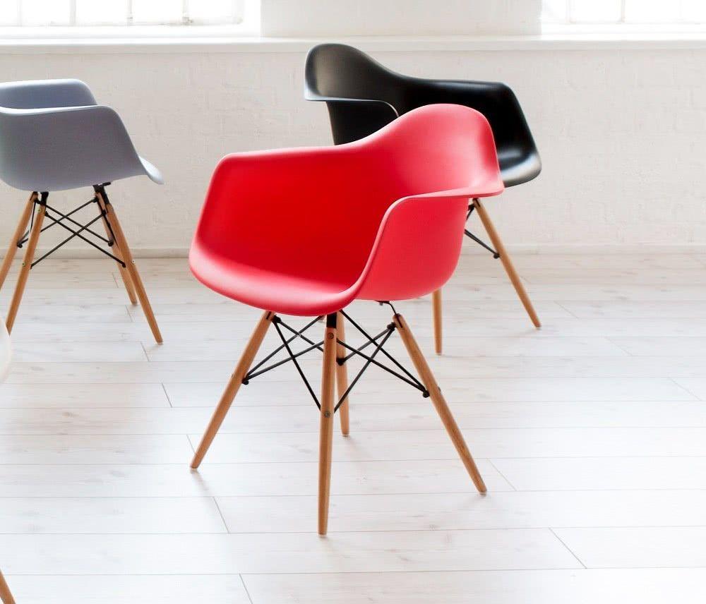 Cadeira para recepção de escritório