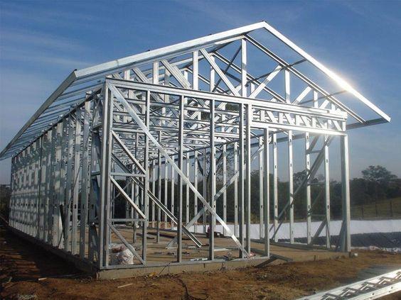 Steel frame, o futuro da construção civil!