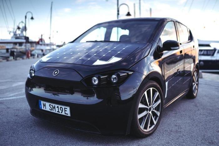 Carros movidos a energia solar