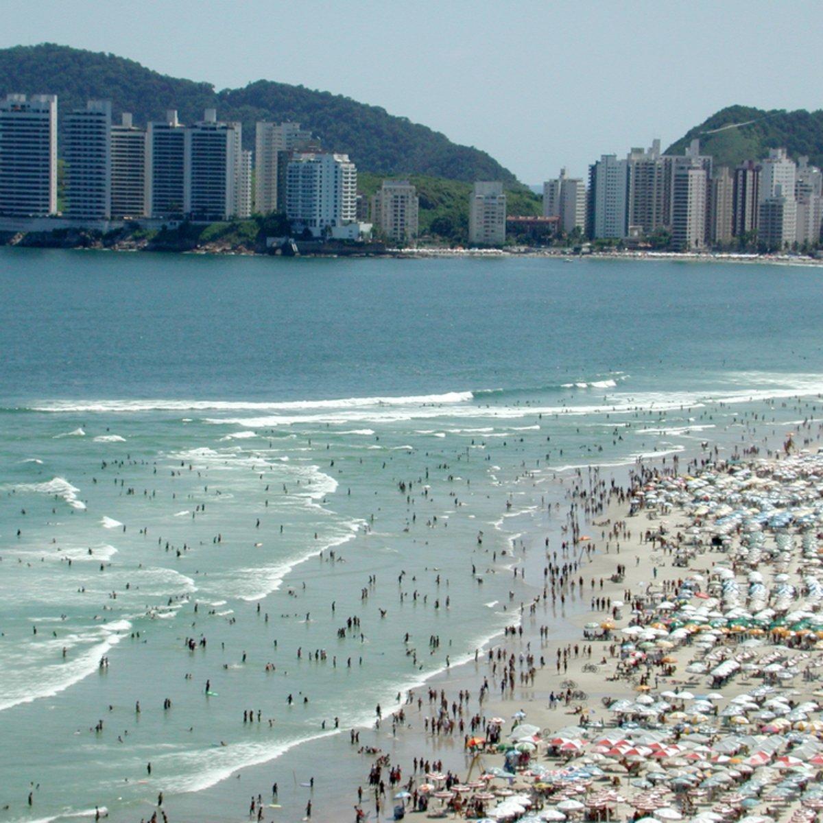 O que fazer na praia da Enseada em Guarujá